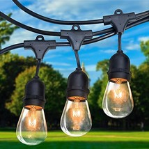 Royal Light Outdoor String Lights 48 ft Thick Bulb with Hanging Sockets ... - €39,00 EUR