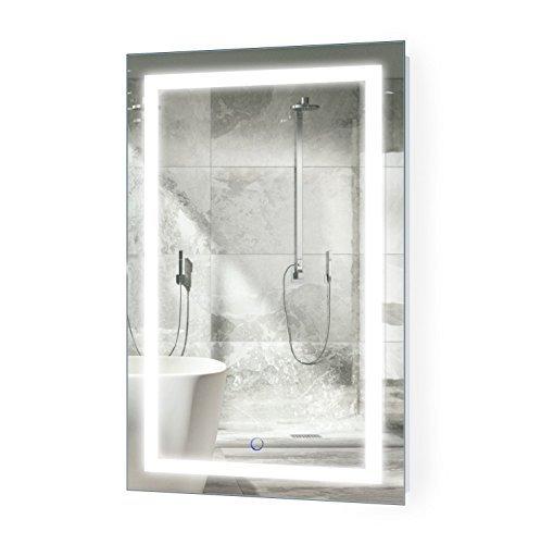 Krugg Led Bathroom Mirror 20 Inch X 32 Inch Lighted