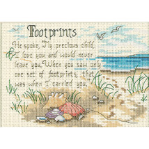 "Dimensions/Jiffy Mini Counted Cross Stitch Kit 7""X5""-He Spoke (14 Count) - $13.62"