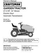 12 Sears Craftsman 27 HP Riding Mower Tractor Manuals - $7.99