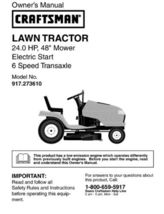 13 Sears Craftsman 24 HP Riding Mower Tractor Manuals - $7.99