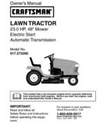 26 Sears Craftsman 23 HP Riding Mower Tractor Manuals - $7.99