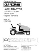 29 Sears Craftsman 18.5 HP Riding Mower Tractor Manuals - $7.99