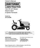 30 Sears Craftsman 16 HP Riding Mower Tractor Manuals - $7.99