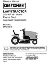 33 Sears Craftsman 25 HP Riding Mower Tractor Manuals - $7.99