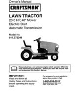 53 Sears Craftsman 20 HP Riding Mower Tractor Manuals - $7.99