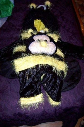 Awesome Infant Fuzzy Bumblebee Baby Costume 12 Months Petables Adorable NEW