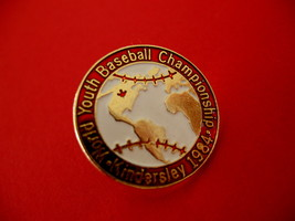 World Youth Baseball Championship Kindersley Lapel Hat Pin - $9.99