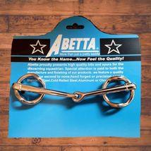 "Abetta Stainless Steel Gag Bit 5"" thin broken Mouth image 1"