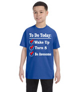 Kids Birthday Shirt Turn 8 Eight Year Old Gift 8th Funny Bday Outfit - $18.94