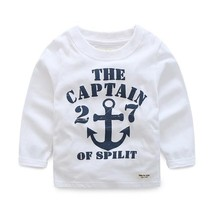 Boys Cotton T Shirts Spring Baby Boy Hoodies Children Long Sleeve T-Shirts - $24.72 CAD+