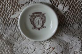 Hall China REGENCY HOTEL Restaurant Butter Pat Dish Circa 1940 - $22.50