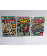 LUKE CAGE POWER MAN #35 + #52 WITH IRON FIST - FREE SHIPPING - $18.70