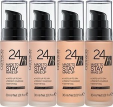 NEW Catrice 24h Made To Stay Liquid Make Up Foundation with Protective C... - $13.99