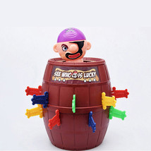 pop up game jumping pirate barrel children tricky toy - $13.00