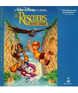 RESCUERS DOWN UNDER DISNEY LASERDISC RARE - $12.95