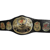 Stone Cold Smoking Skull World Heavyweight Champion Replica Belt 4mm image 2