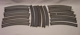 """HO 18"""" R CURVED TRACK LOT of 20 PIECES of 9"""" Long TRAIN TRACK Atlas Bach... - $19.80"""
