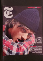 NY Times Magazine Viggo Mortensen; Raquel Zimmerman; Miranda Kerr; Tory ... - $14.99