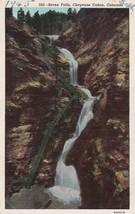 Seven Falls Cheyenne Canon Colorado CO 1945 to Portland OR Postcard B20 - $2.99