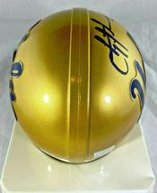TROY AIKMAN / NFL HALL OF FAME / AUTOGRAPHED UCLA LOGO MINI HELMET / PLAYER COA image 5