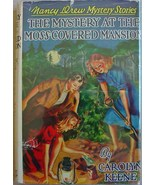 Nancy Drew #18 MYSTERY AT THE MOSS-COVERED MANS... - $21.00