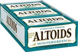 Altoids Mints, Wintergreen, 1.76 Ounce (Pack of 12) - $27.90
