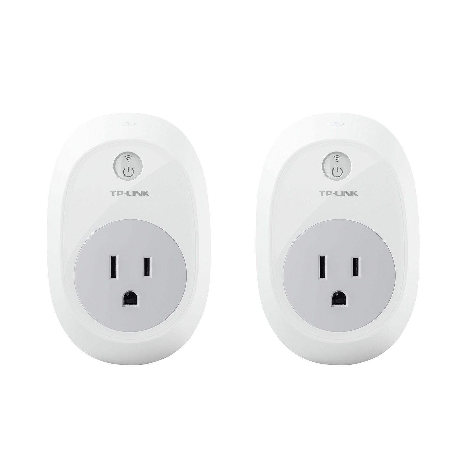 TP-Link HS100 Smart Plug (2-Pack) No Hub Required Wi-Fi Works with Alexa and ...