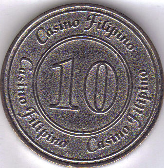 Manila casino filipino php10 token