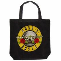 Guns N' Roses Bullet Logo - Unisex Black Tote Bag - €19,35 EUR
