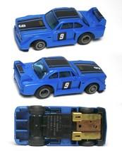 1980 Ideal TCR BMW 328ish RARE Blue & Black #9 Slot Car MK3 Chassis Very Rare! - $44.54