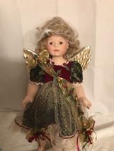 Franklin Heirloom Porcelain/Bisque Angelica The Faberge Angel Doll - $40.21