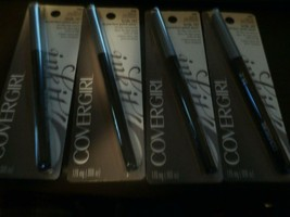 4 New Covergirl Ink It By Perfect Point Plus All Day Eye Pencil 255 Silver Ink - $22.22