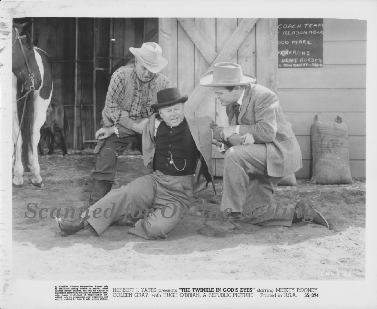 Twinkle in God's Eye Mickey Rooney Raymond Hatton 8x10Photo