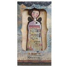 Kelly Rae Roberts Angel Ornament Card - THANKFUL HEART - $12.81