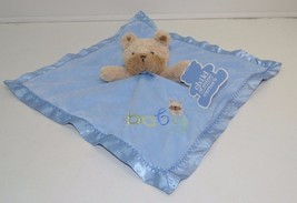 Child Of Mine Carters Baby Security Blanket Blue Puppy Dog NEW - $37.33 CAD