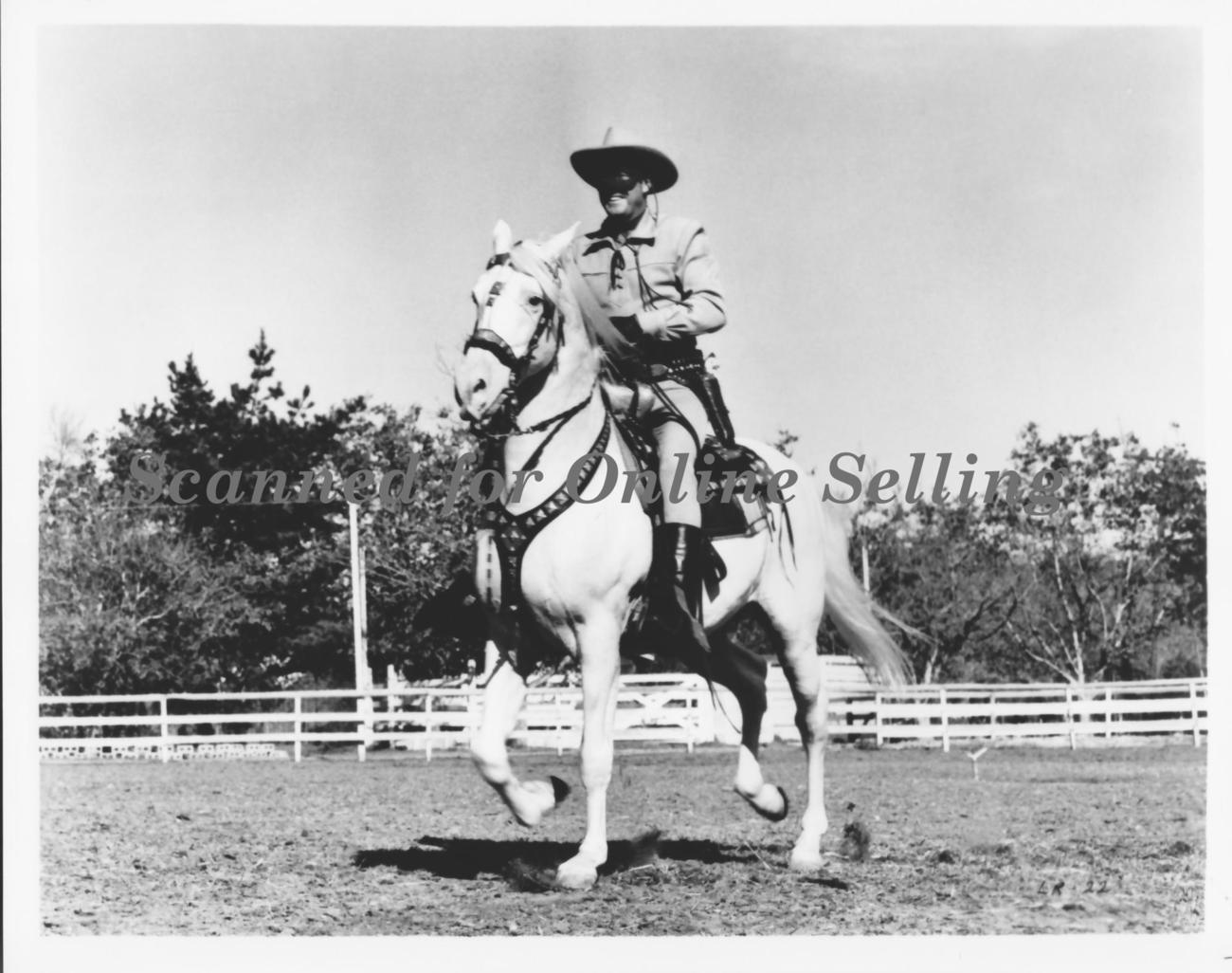 Lone Ranger and Silver Prances 8x10 Photo