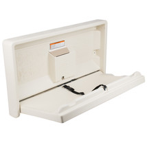 Gamco Baby Restroom Changing Station Table Wall Mount Tan Commercial Bat... - $169.00