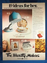 Vintage Magazine Ad Print Design Advertising General Electric Ideas For Her - $12.86