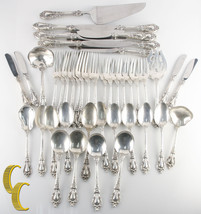 Eloquence by Lunt Sterling Silver Flatware Set 45 Pieces Great Condition! - $2,474.99