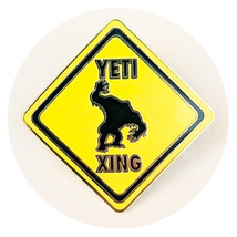 Expedition Everest Disney Lapel Pin: Yeti Crossing Sign - $12.90