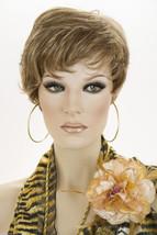 Dk Ash Blnd & Lt Gold Blonde  Drk blnde Nape Short Jon Renau Large Cap Wigs - $115.79