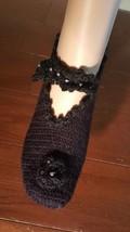 "Women's Slippers Handmade %100  Wool  9"" - £16.95 GBP"