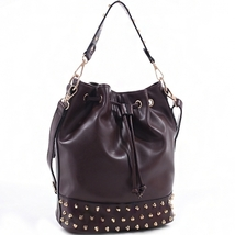 Emperia Outfitters Handbag Dual Concealed Carry Bucket Bag Purse Coffee NEW - $79.99