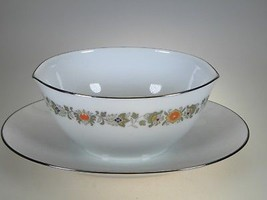 Noritake Sedgwick Gravy & Attached Liner - $23.33