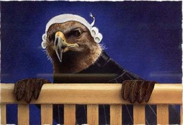 """Will Bullas"""" Legal Eagle #311/1000 Mint Eagle at bench. Too cute! LTD Re... - $64.35"""