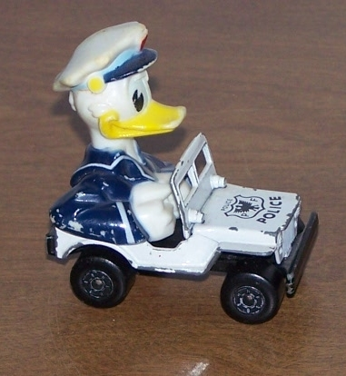 Lesney Toys Of Yesteryears  Donald Duck Police Jeep