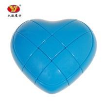 3x3x3 Creative Heart-shaped Magic Cube Speed Puzzle Cube Kids Toys Educa... - $15.28
