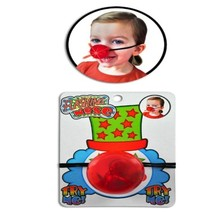 Red Flashing Clown Nose - One Item image 2