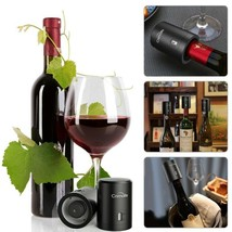 New Bottle Wine Stopper Vacuum Red Sealed Cap Champagne Silicone Reusabl... - $17.99